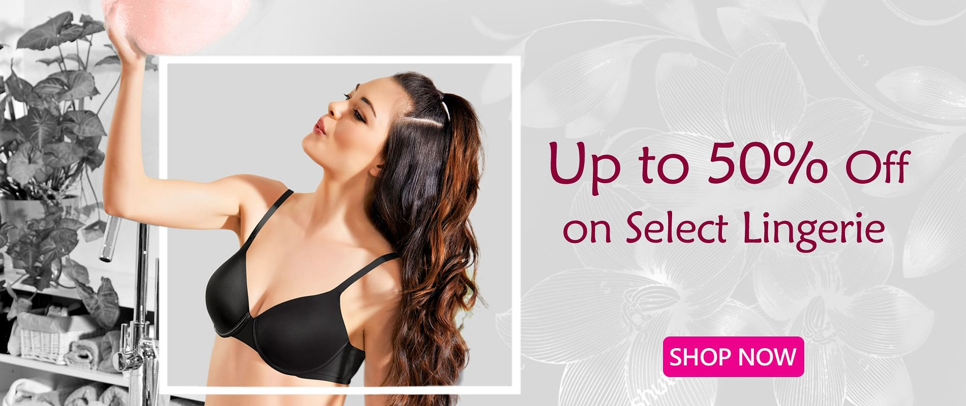 Up to 50% on Select Lingerie Offer