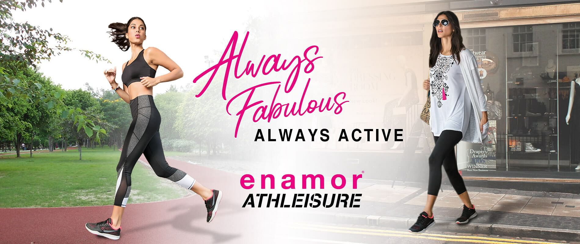 Enamor® Athleisure for Womens