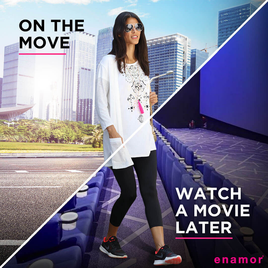 Enamor Athleisure for Women - Watch a Movie Later